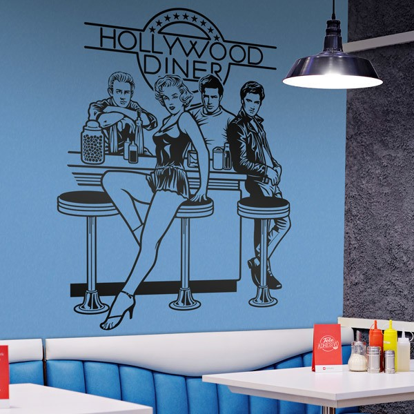 Wall Stickers: Hollywood Diner