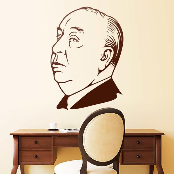 Wall Stickers: Alfred Hitchcock 2