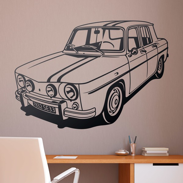 Wall Stickers: Renault 8