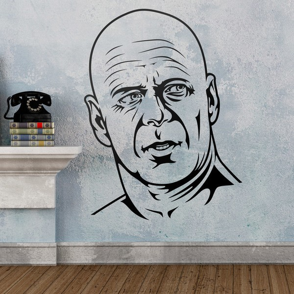 Wall Stickers: Bruce Willis in Die Hard
