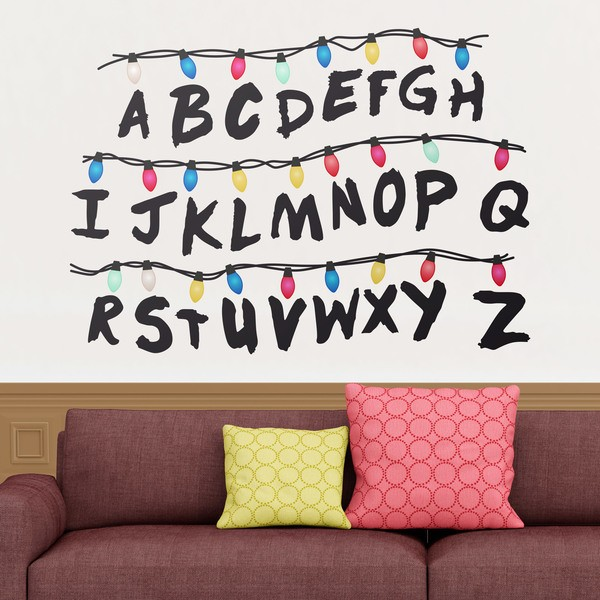 Wall Stickers: Stranger Things Alphabet