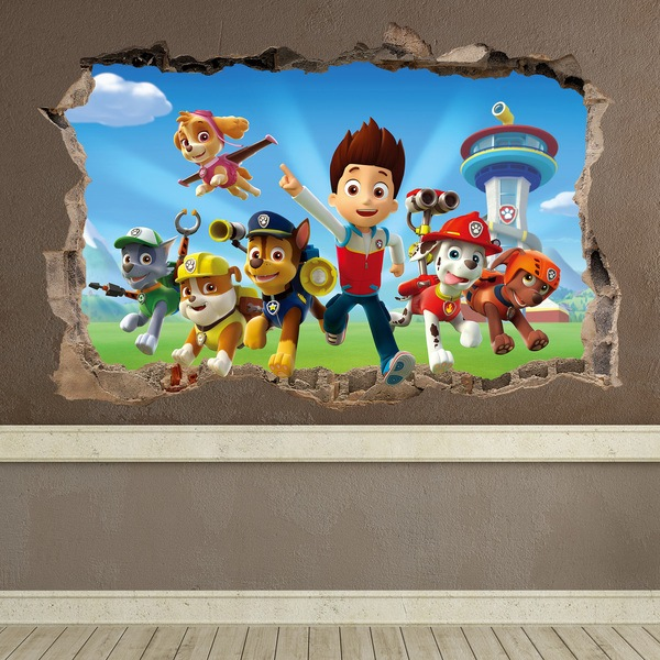 Stickers for Kids: Hole PAW Patrol