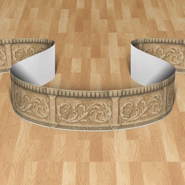 Wall Stickers: Wall border Ornamental II