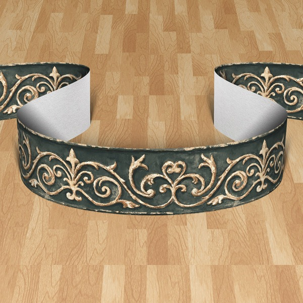 Wall Stickers: Wall border classic style