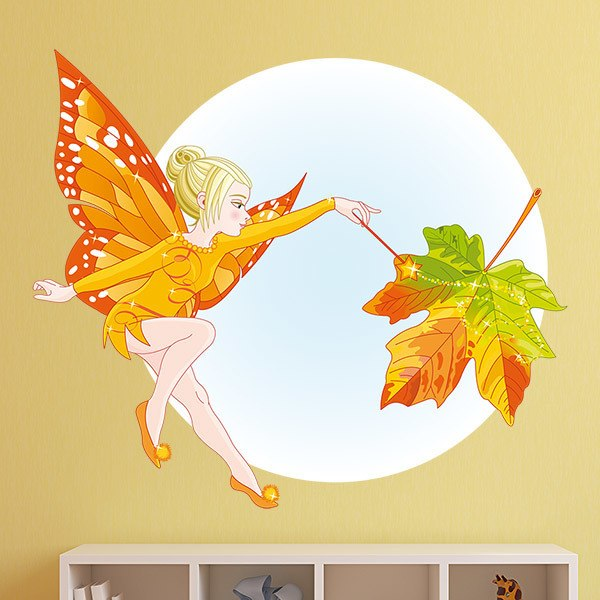 Stickers for Kids: Autumn Fairy Butterfly