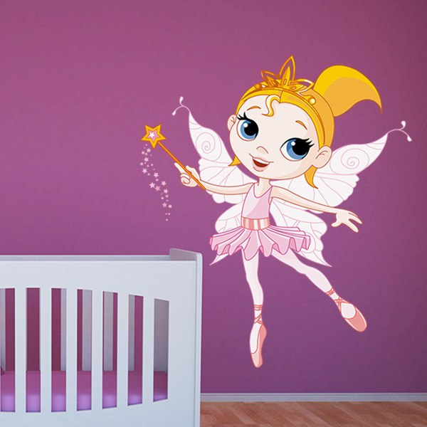 Stickers for Kids: Fairy Ballerina Rosa