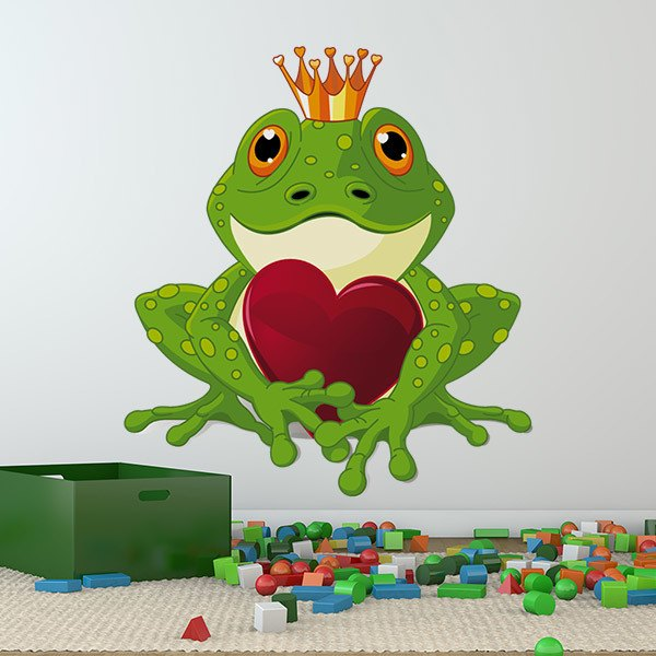 Stickers for Kids: Frog prince 1