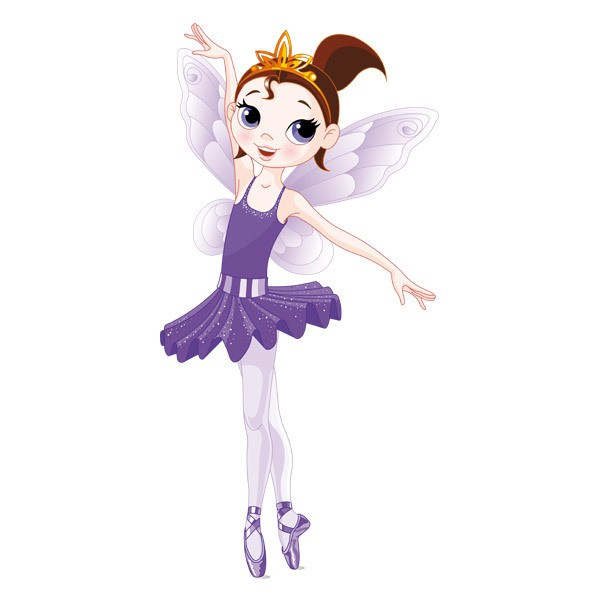 Stickers for Kids: Fairy Ballerina Violet