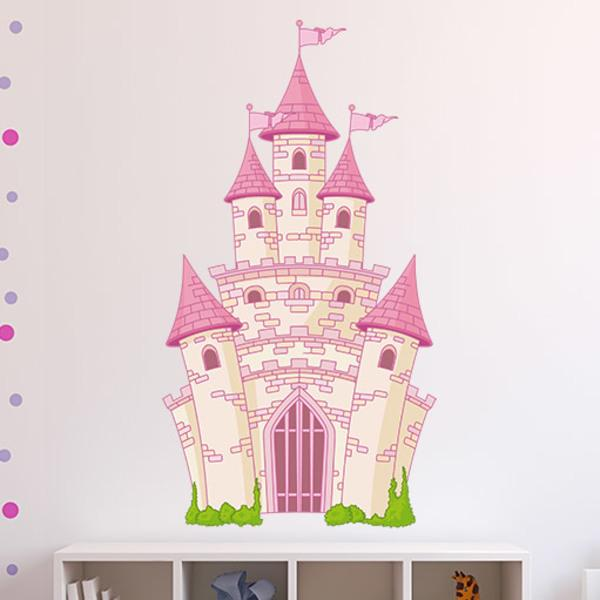 Stickers for Kids: The Fantastic Castle