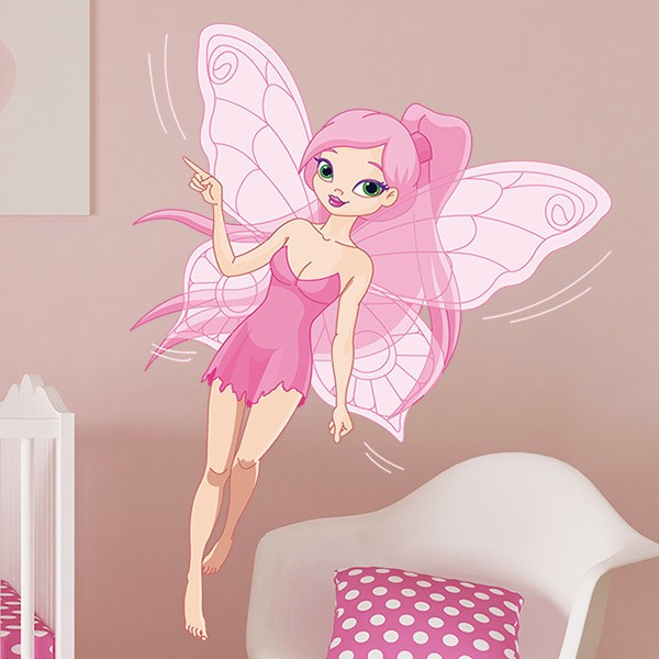 Stickers for Kids: Pink Fairy 3