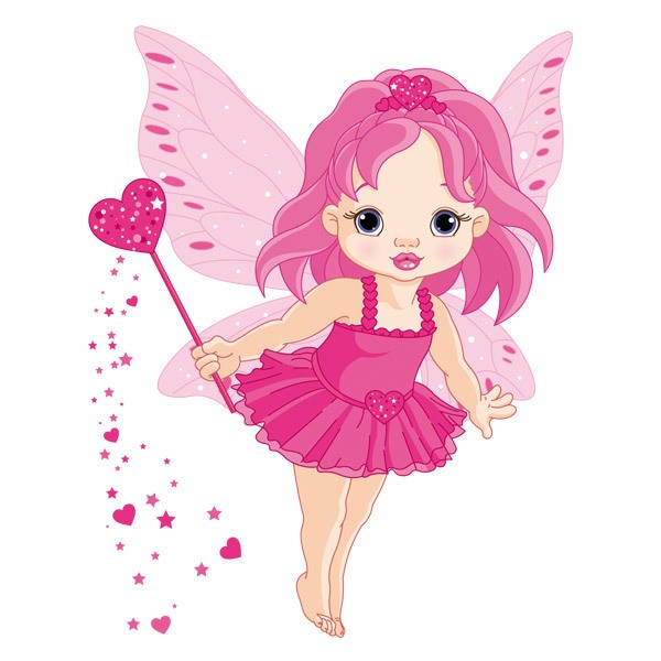 Stickers for Kids: Little butterfly fairy