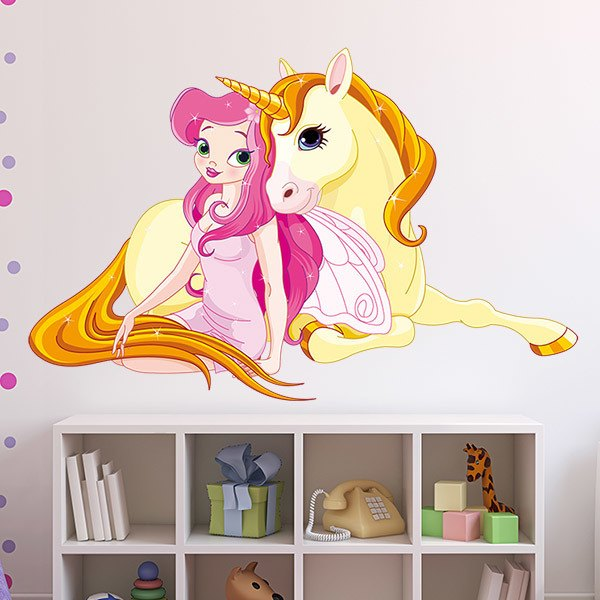 Stickers for Kids: Princess and Unicorn