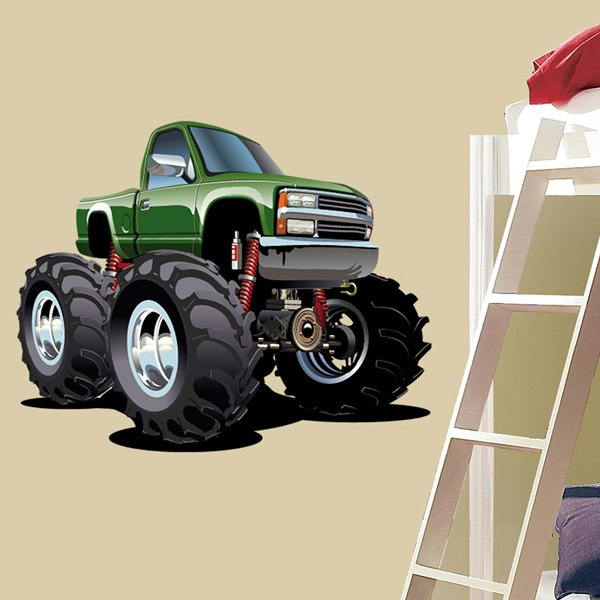 Stickers for Kids: Monster Truck 2