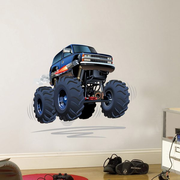 Stickers for Kids: Monster Truck 4