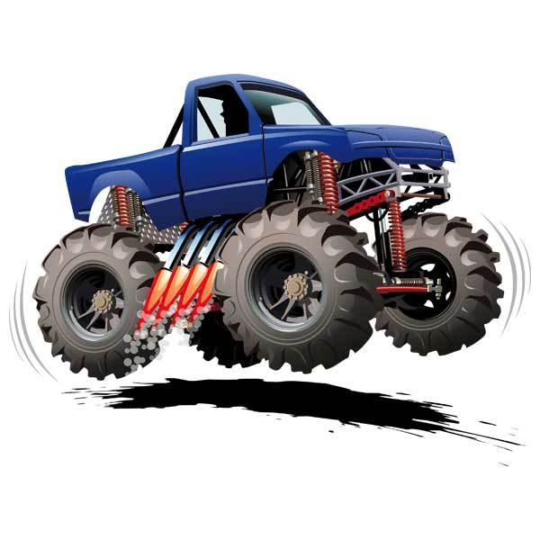 Stickers for Kids: Monster Truck 8