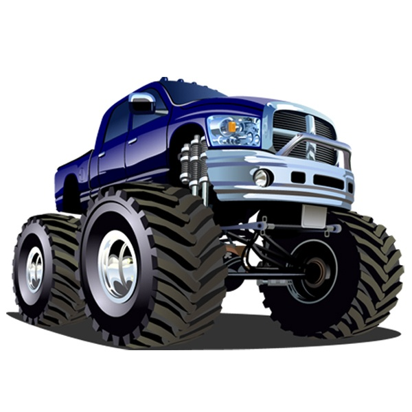 Stickers for Kids: Monster Truck 13