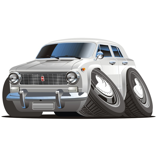 Stickers for Kids: Classic car 3