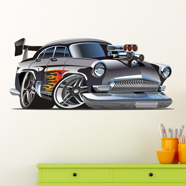 Stickers for Kids: Classic car 5