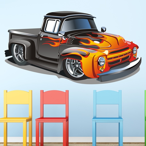 Stickers for Kids: Custom PickUp 2
