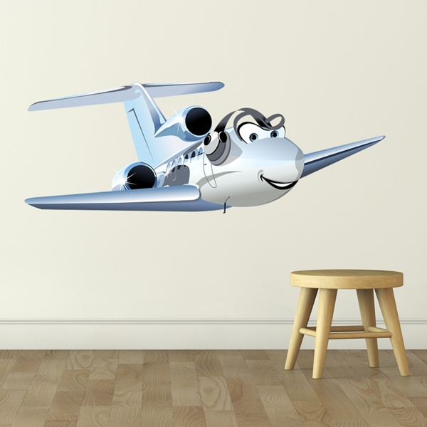 Stickers for Kids: Microlight