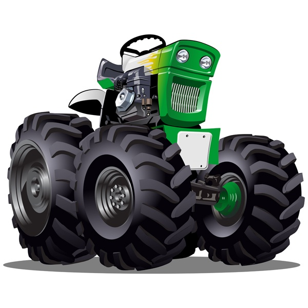 Stickers for Kids: Monster Truck 25