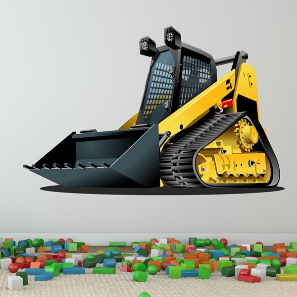 Stickers for Kids: Bulldozer 2 1