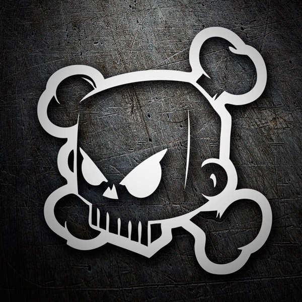 Car and Motorbike Stickers: Ken Block 43 DC Shoes Skull 2