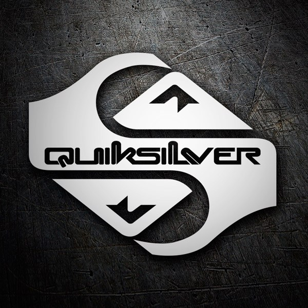 Car and Motorbike Stickers: Quiksilver 7