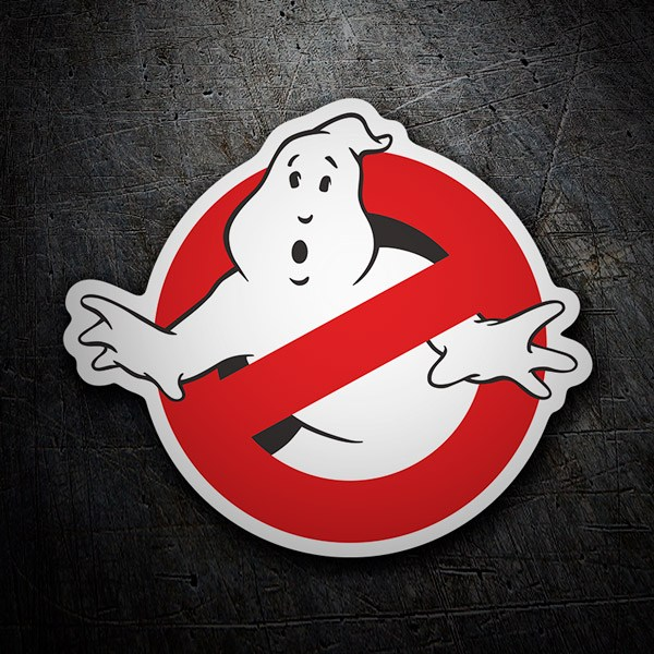 Car and Motorbike Stickers: Ghostbusters