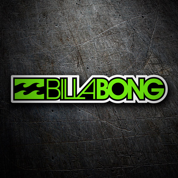 Car and Motorbike Stickers: Billabong