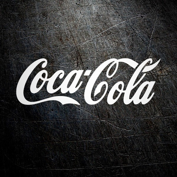 Car and Motorbike Stickers: Coca Cola