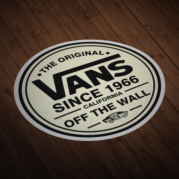 Car and Motorbike Stickers: The Original Vans