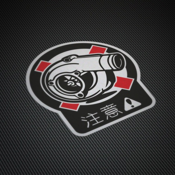 Car and Motorbike Stickers: Boost 1