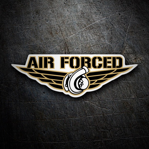 Car and Motorbike Stickers: Air Forced