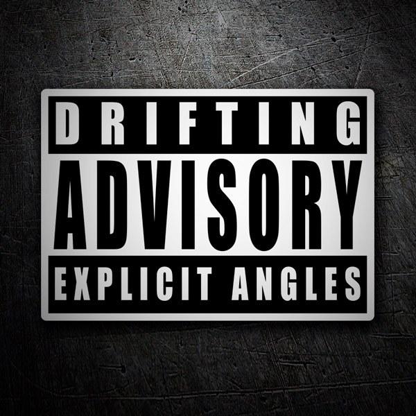 Car and Motorbike Stickers: Drifting Advisory Explicit Angles