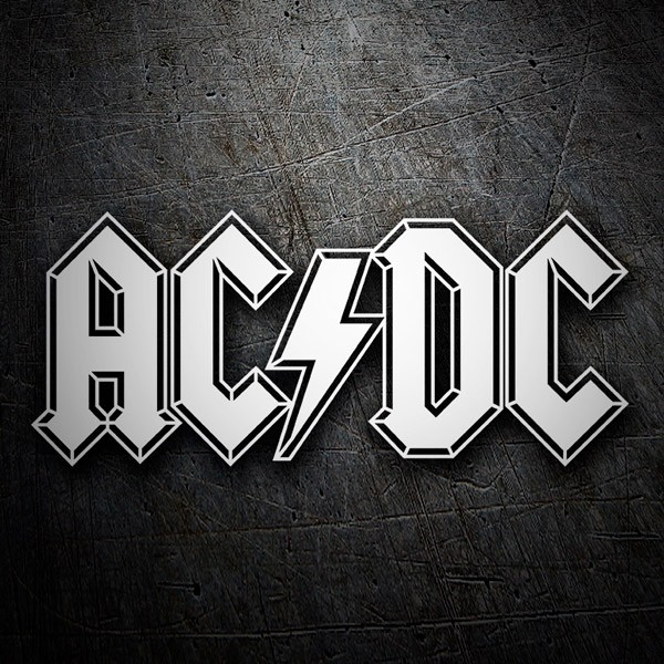 Car and Motorbike Stickers: ACDC