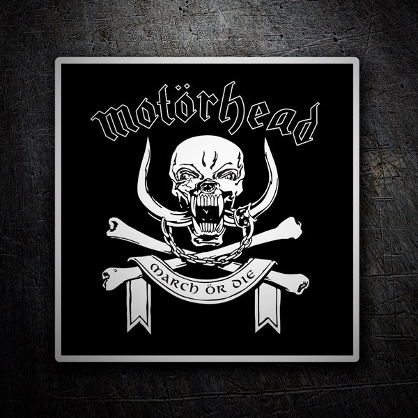 Car and Motorbike Stickers: Motörhead logo