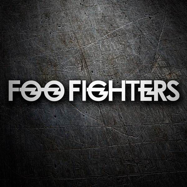 Car and Motorbike Stickers: Foo Fighters