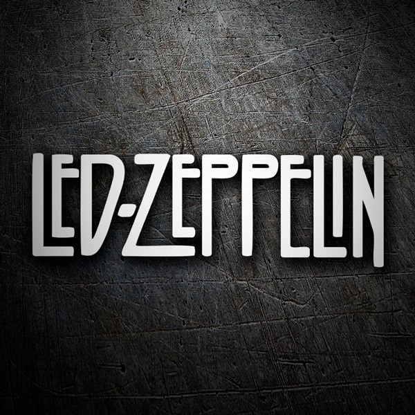 Car and Motorbike Stickers: Led Zeppelin