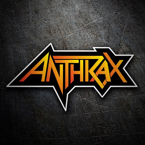 Car and Motorbike Stickers: Anthrax 1