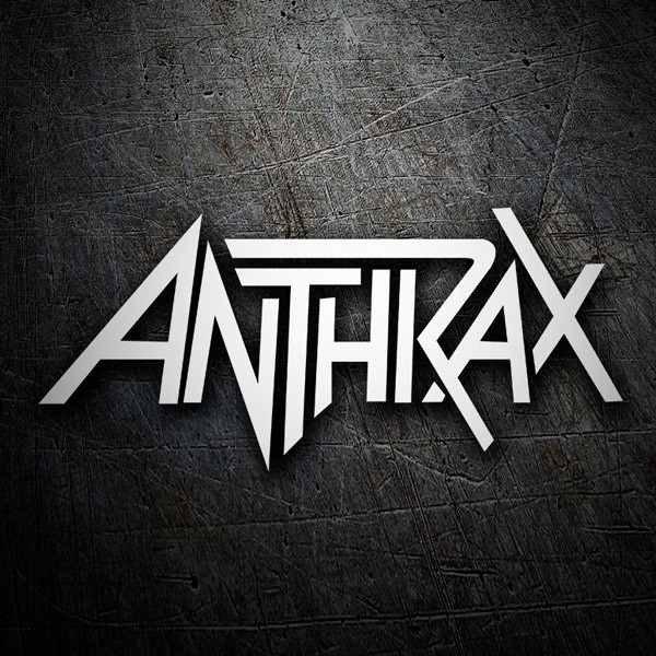 Car and Motorbike Stickers: Anthrax 2