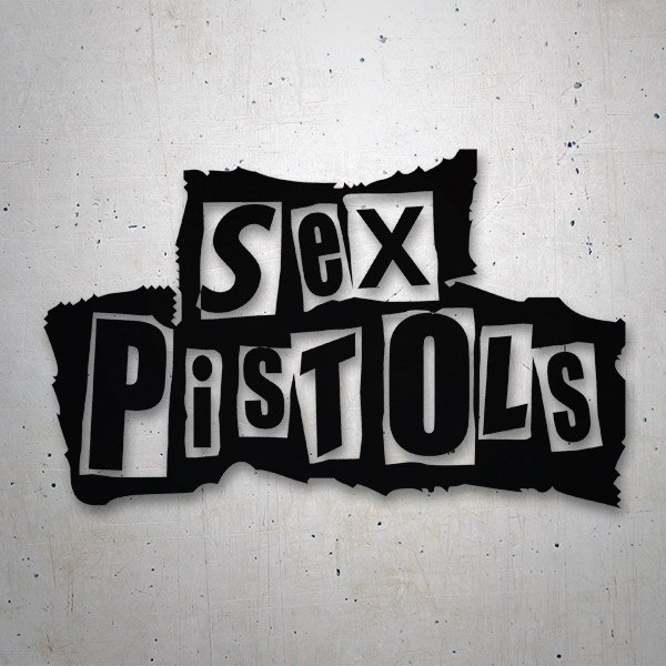 Car and Motorbike Stickers: Sex Pistols