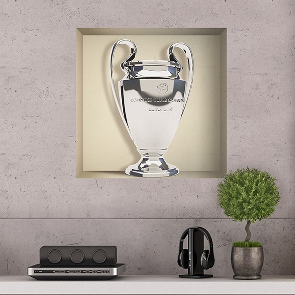 Wall Stickers: Cup Champions League niche