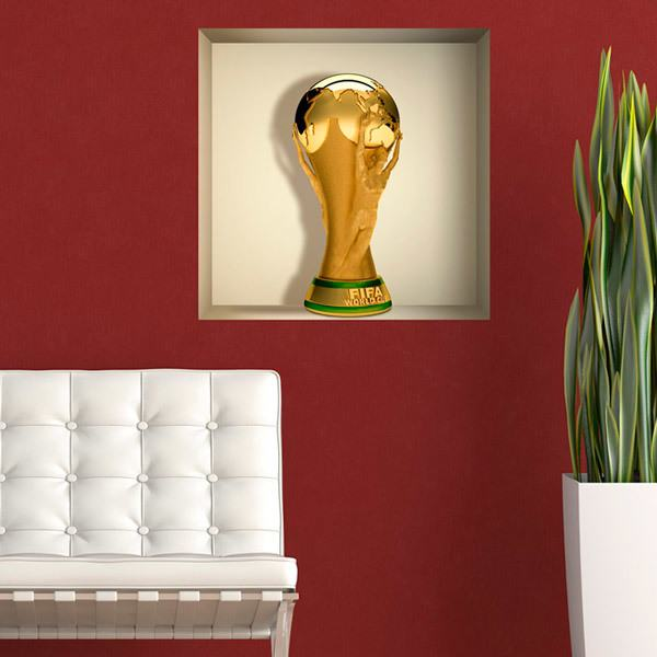 Wall Stickers: World Cup Football niche
