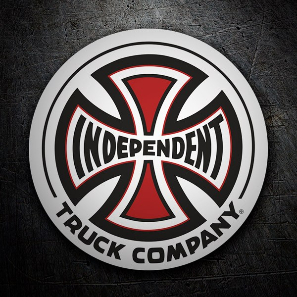 Car and Motorbike Stickers: Independent Truck Company