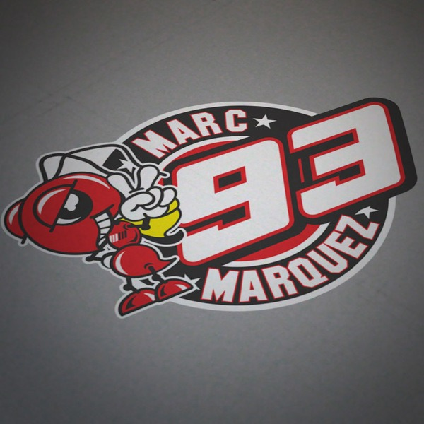 Car and Motorbike Stickers: Marc Marquez 93