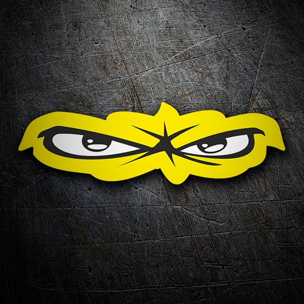 Car and Motorbike Stickers: The eye of the tiger