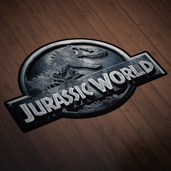 Car and Motorbike Stickers: Jurassic World