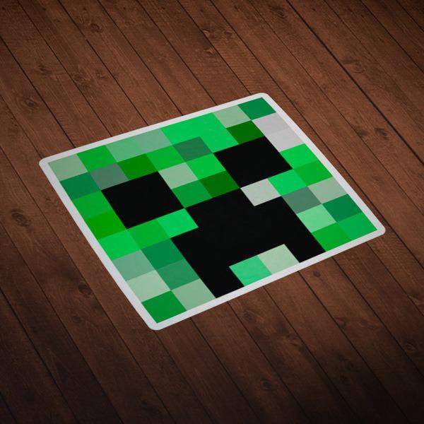 Wall Stickers: Minecraft Skin head 1