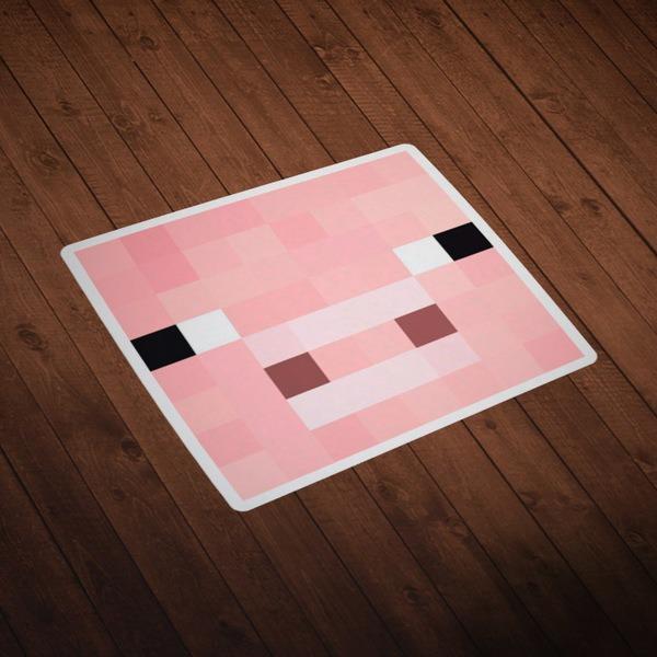 Wall Stickers: Minecraft Skin head 2